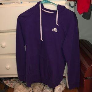 purple adidas hoodie